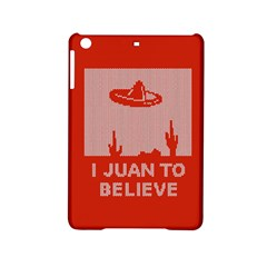 I Juan To Believe Ugly Holiday Christmas Red Background Ipad Mini 2 Hardshell Cases