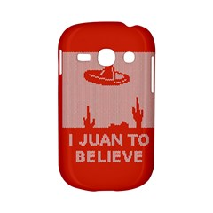 I Juan To Believe Ugly Holiday Christmas Red Background Samsung Galaxy S6810 Hardshell Case