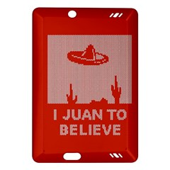 I Juan To Believe Ugly Holiday Christmas Red Background Amazon Kindle Fire Hd (2013) Hardshell Case
