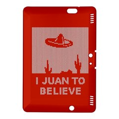 I Juan To Believe Ugly Holiday Christmas Red Background Kindle Fire HDX 8.9  Hardshell Case