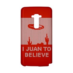 I Juan To Believe Ugly Holiday Christmas Red Background LG G Flex