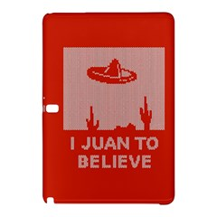 I Juan To Believe Ugly Holiday Christmas Red Background Samsung Galaxy Tab Pro 10.1 Hardshell Case
