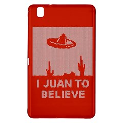 I Juan To Believe Ugly Holiday Christmas Red Background Samsung Galaxy Tab Pro 8.4 Hardshell Case