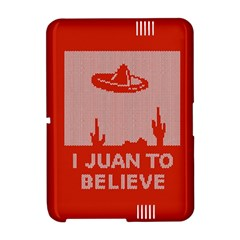 I Juan To Believe Ugly Holiday Christmas Red Background Amazon Kindle Fire (2012) Hardshell Case