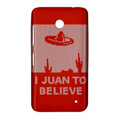 I Juan To Believe Ugly Holiday Christmas Red Background Nokia Lumia 630