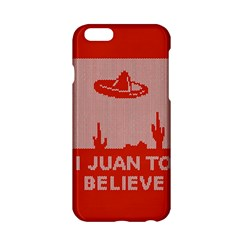 I Juan To Believe Ugly Holiday Christmas Red Background Apple iPhone 6/6S Hardshell Case
