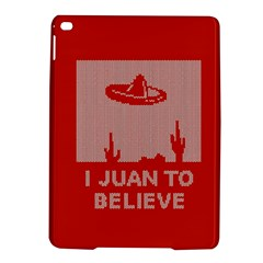 I Juan To Believe Ugly Holiday Christmas Red Background Ipad Air 2 Hardshell Cases