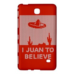 I Juan To Believe Ugly Holiday Christmas Red Background Samsung Galaxy Tab 4 (8 ) Hardshell Case