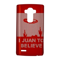 I Juan To Believe Ugly Holiday Christmas Red Background LG G4 Hardshell Case