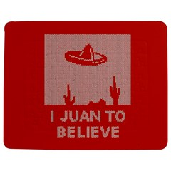 I Juan To Believe Ugly Holiday Christmas Red Background Jigsaw Puzzle Photo Stand (Rectangular)