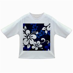 Blue Hibiscus Infant/Toddler T-Shirts