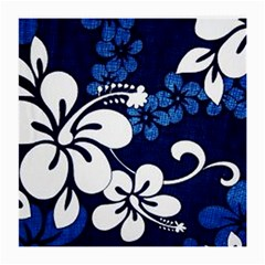 Blue Hibiscus Medium Glasses Cloth (2-Side)