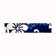 Blue Hibiscus Small Bar Mats