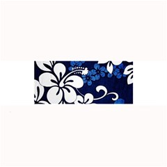 Blue Hibiscus Large Bar Mats