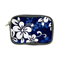 Blue Hibiscus Coin Purse
