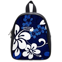 Blue Hibiscus School Bags (Small)