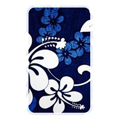Blue Hibiscus Memory Card Reader