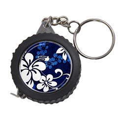 Blue Hibiscus Measuring Tapes