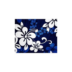 Blue Hibiscus Shower Curtain 48  x 72  (Small)