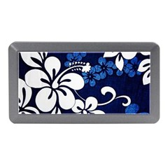 Blue Hibiscus Memory Card Reader (Mini)