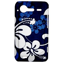 Blue Hibiscus HTC Incredible S Hardshell Case