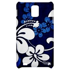 Blue Hibiscus Samsung Infuse 4G Hardshell Case
