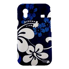 Blue Hibiscus Samsung Galaxy Ace S5830 Hardshell Case