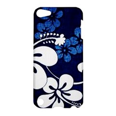 Blue Hibiscus Apple iPod Touch 5 Hardshell Case