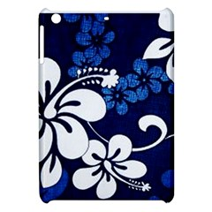 Blue Hibiscus Apple iPad Mini Hardshell Case