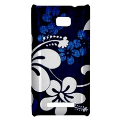 Blue Hibiscus HTC 8X
