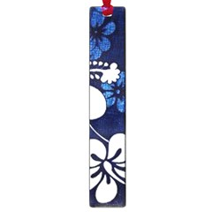 Blue Hibiscus Large Book Marks