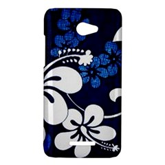 Blue Hibiscus HTC Butterfly X920E Hardshell Case