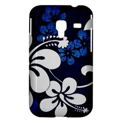 Blue Hibiscus Samsung Galaxy Ace Plus S7500 Hardshell Case