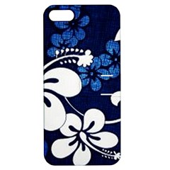 Blue Hibiscus Apple iPhone 5 Hardshell Case with Stand
