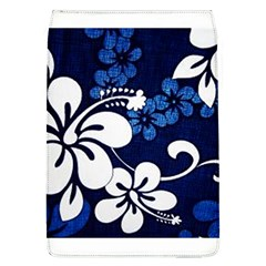 Blue Hibiscus Flap Covers (L)