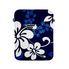 Blue Hibiscus Apple iPad 2/3/4 Protective Soft Cases