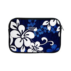 Blue Hibiscus Apple iPad Mini Zipper Cases