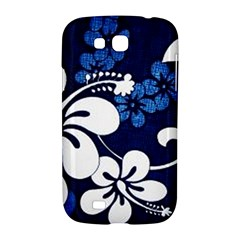 Blue Hibiscus Samsung Galaxy Grand GT-I9128 Hardshell Case