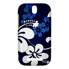 Blue Hibiscus HTC One SV Hardshell Case