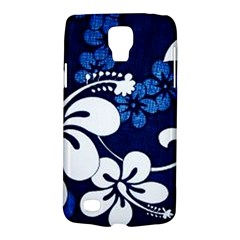 Blue Hibiscus Galaxy S4 Active