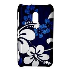 Blue Hibiscus Nokia Lumia 620