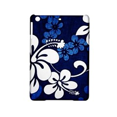 Blue Hibiscus iPad Mini 2 Hardshell Cases