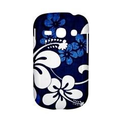 Blue Hibiscus Samsung Galaxy S6810 Hardshell Case