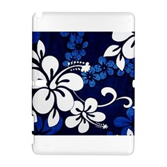 Blue Hibiscus Samsung Galaxy Note 10.1 (P600) Hardshell Case