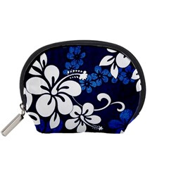 Blue Hibiscus Accessory Pouches (Small)