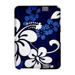 Blue Hibiscus Amazon Kindle Fire (2012) Hardshell Case