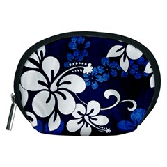 Blue Hibiscus Accessory Pouches (Medium)
