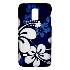Blue Hibiscus Galaxy S5 Mini