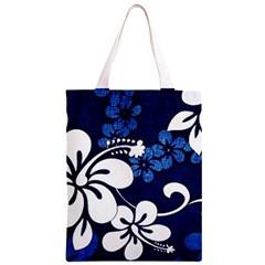 Blue Hibiscus Classic Light Tote Bag