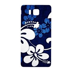 Blue Hibiscus Samsung Galaxy Alpha Hardshell Back Case